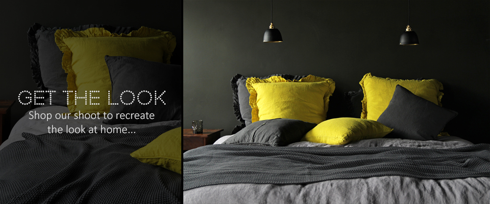 Get The Look - Pop of Acid Yellow Bed Linen