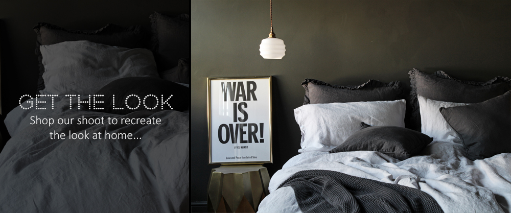 Get The Look - Sassy Silver  Bed Linen