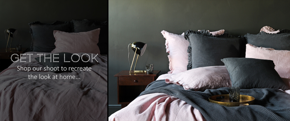 Get The Look - Blush Pink Bed Linen