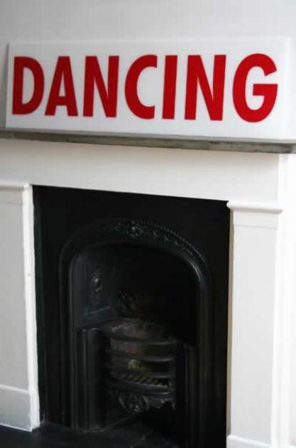 Retro Perspex Sign - Dancing