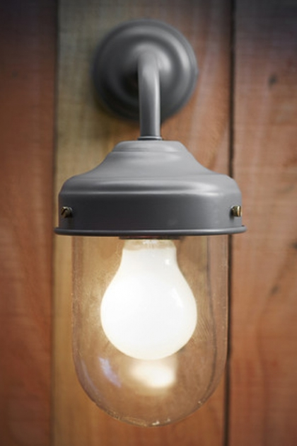 Barn Lamp - For Outside Use - Charcoal