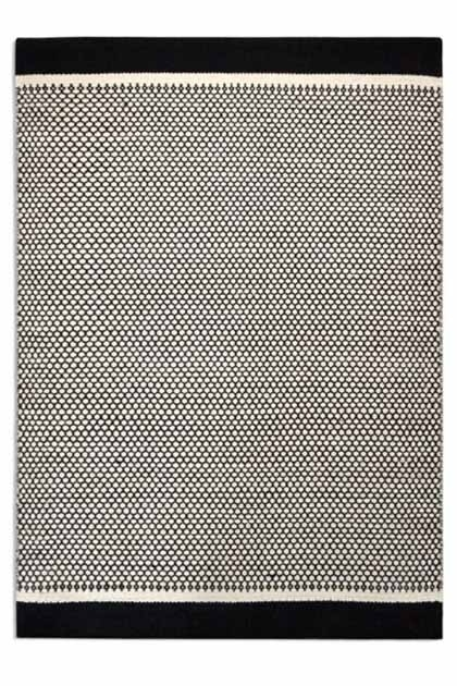 Honeycomb patterned 100% will rug - Rockett St George