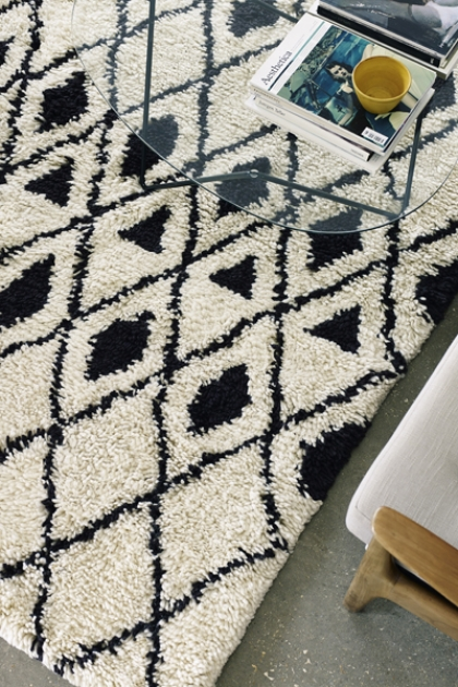 Deep Pile African Benni 03 Rug - 3 Sizes Available