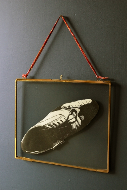 Brass & Glass Picture Frame - 8x10 Landscape