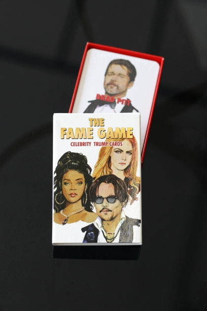 The Fame Game - Trump Card Game