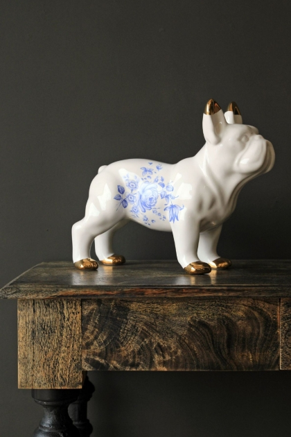 Ceramic Bulldog by Young & Battaglia