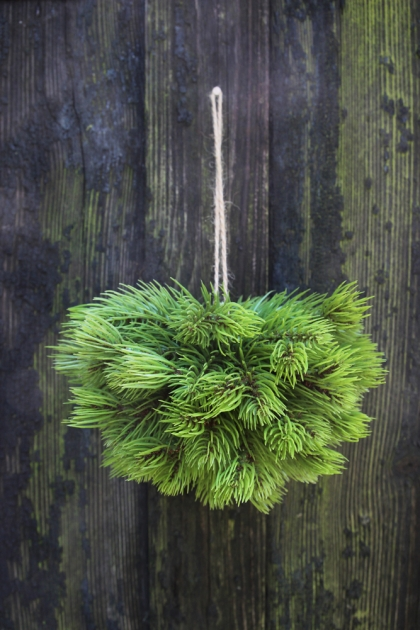 Faux Pine Hanging Decoration