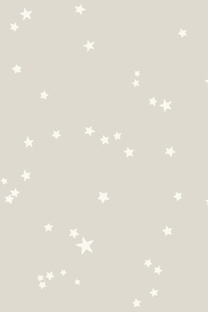 Cole & Son Whimsical Collection - Natural Stars Wallpaper - 3 Colours Available