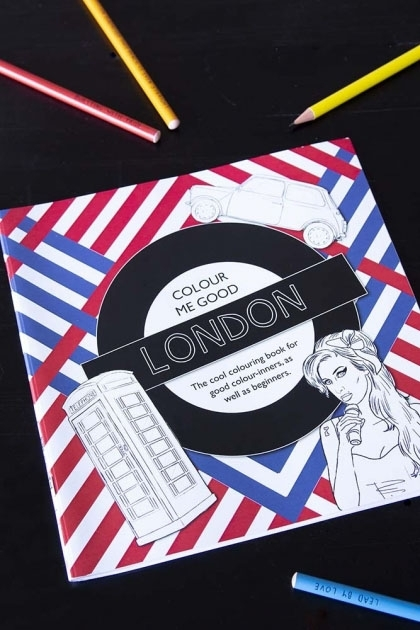 Colour Me Good London Adult Colouring Book