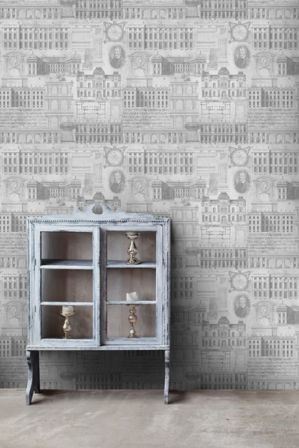 Mind The Gap Vitruvius Wallpaper - 2 Colours Available