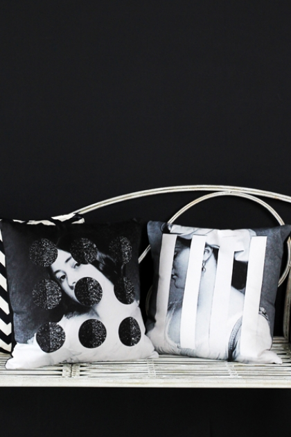 Cushiona Obscura Collection - Blink and Glimpse Cushions