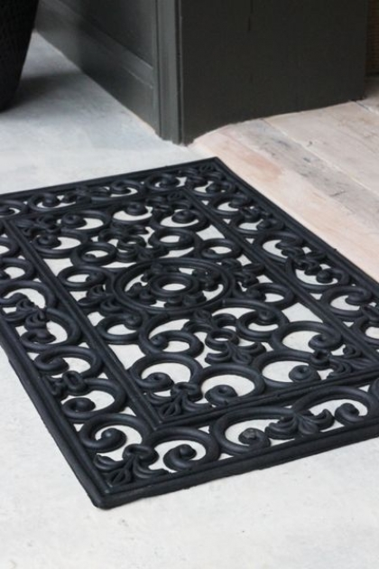 Decorative Filigran Doormat - Small