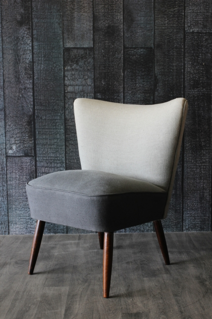 Ombre Cocktail Chair - Grey/Taupe