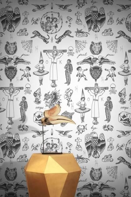 Feathr Tattoo Flash 01 Wallpaper - Original