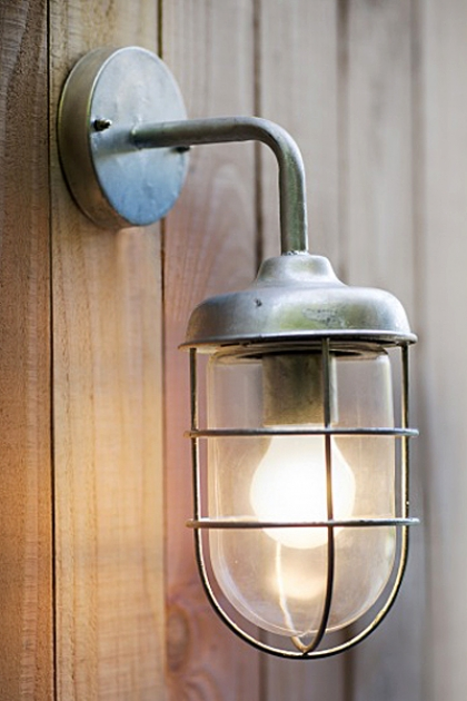 St Ives Hot Dipped Harbour Wall Light
