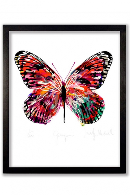 Limited Edition Gauguin Butterfly Art Print
