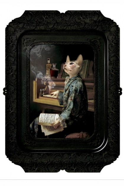 Ibride Animal Tray - Galerie De Portraits Rectangular Tray- Lazy Victoire