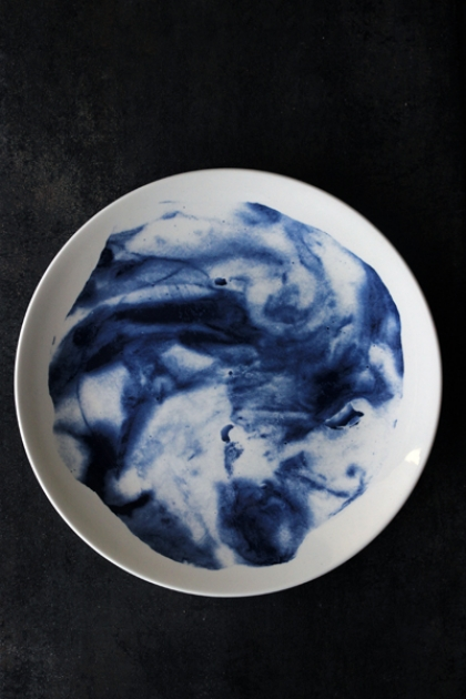Indigo Storm Collection by Faye Toogood for 1882Ltd - 11 inch Plate
