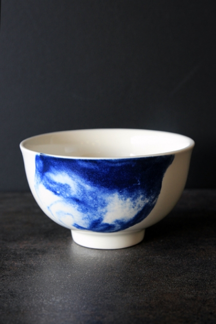 Indigo Storm Collection by Faye Toogood for 1882Ltd - Handless Cup