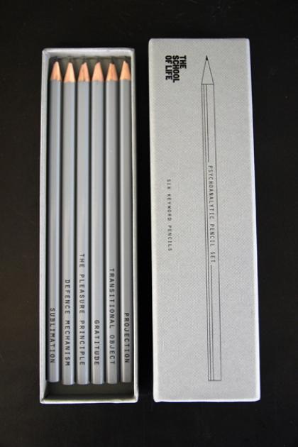 Keyword Pencil Set - Psychoanalysis
