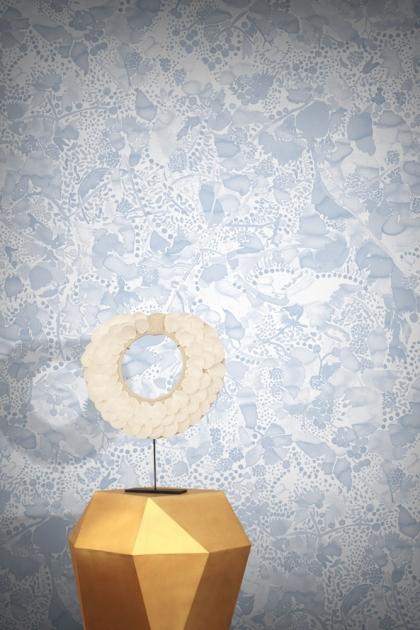 Feathr La Cueillette Wallpaper - Ink
