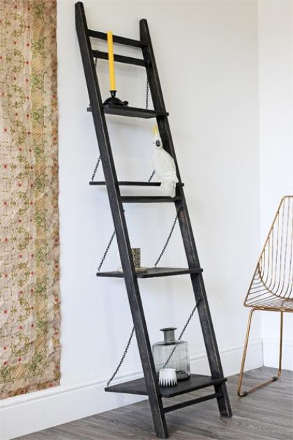 Loft Ladder Bookshelves