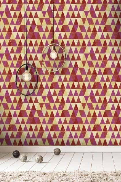 Mind The Gap Circus Pattern Wallpaper