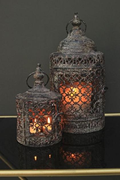 Moorish Lanterns - Set of 2