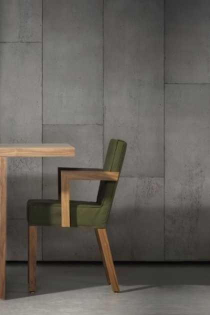 Lifestyle image of NLXL CON-01 Concrete Wallpaper by Piet Boon