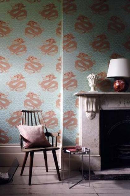Matthew Williamson Celestial Dragon Wallpaper