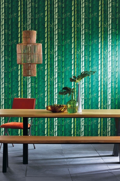 Osborne & Little Bamboo Wallpaper - 6 Colours Available