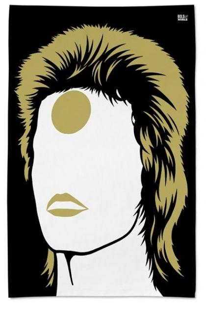 Rock Icon Tea Towel - Ziggy Stardust