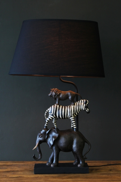 Animal Safari Table Lamp