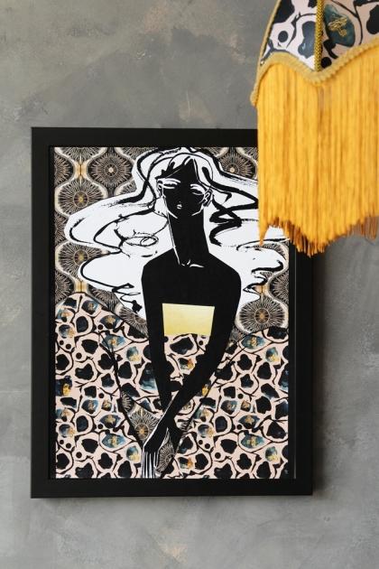 Unframed Anna Hayman with Beth Fraser Art Prints - Marianne