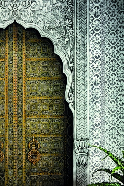Cole & Son Martyn Lawrence Bullard Collection - Bahia Door Wallpaper Mural