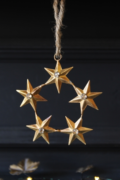 Circle of Stars Hanging Decoration