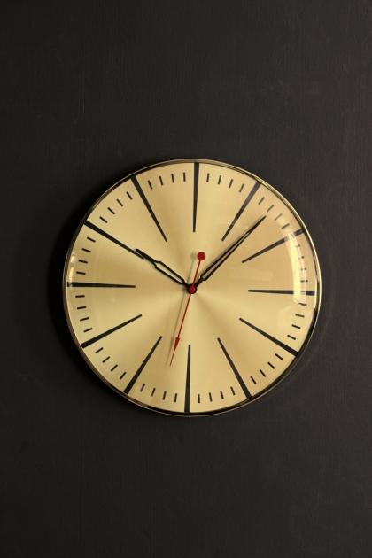 Gold Casino Wall Clock