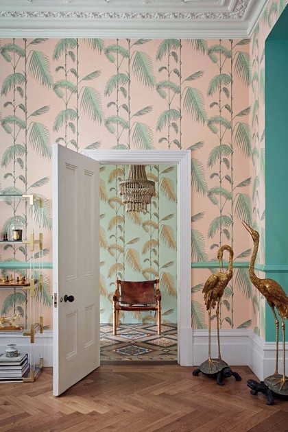Cole & Son Icons Collection - Palm Leaves Wallpaper - 4 Colours Available