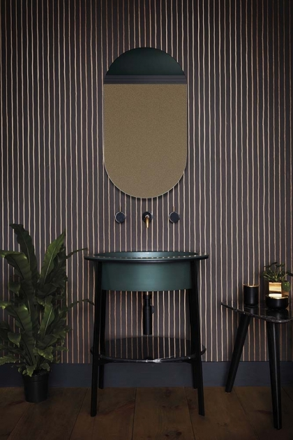Cole & Son Marquee Stripes Collection - College Stripe Wallpaper - 2 Colours Available