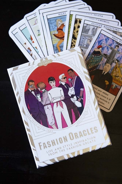 Fashion Oracles: 50 Cards Life & Style Inspiration From The Fashion Greats
