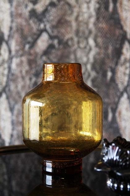 Glass Viola Vase