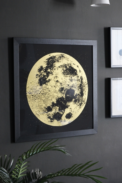 Unframed Gold Moon Art Print