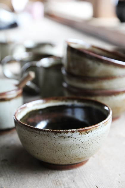 Natural Jolie Stoneware Bowl