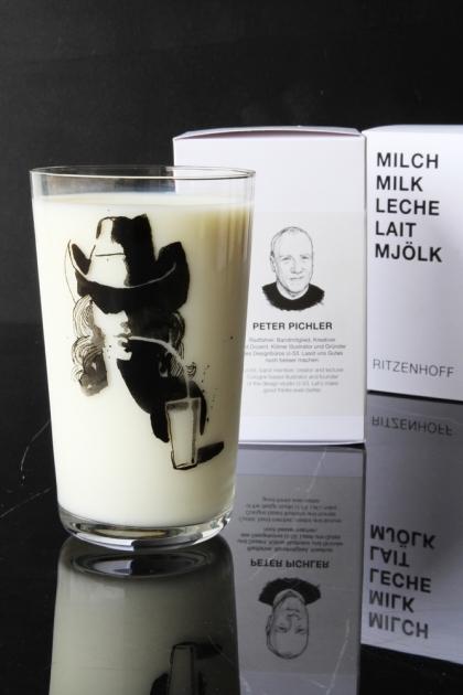 Ritzenhoff Milk Glass - Peter Pichler