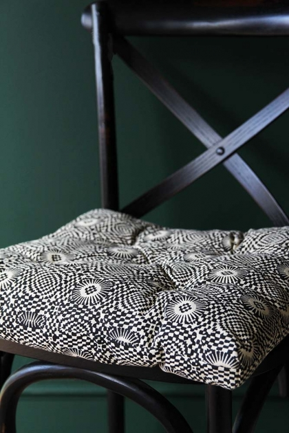Patterned Seat Pad Chair Cushion