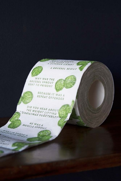 Brussels Sprouts Toilet Paper – Single Roll