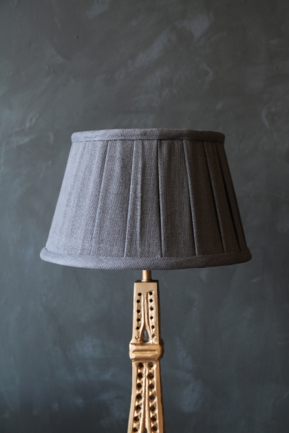 Soft Linen Shade - Charcoal - Various Sizes Available