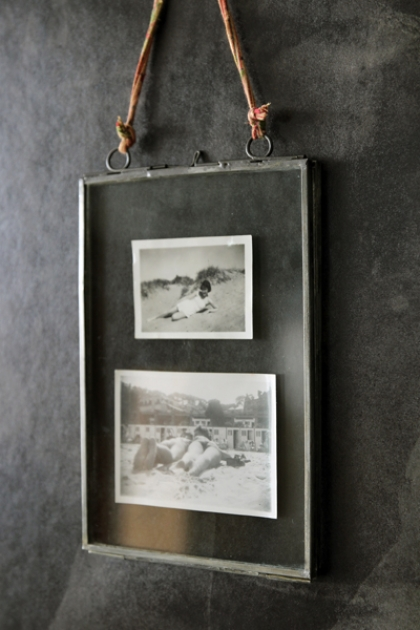 Zinc & Glass Picture Frame - 5x7 Portrait