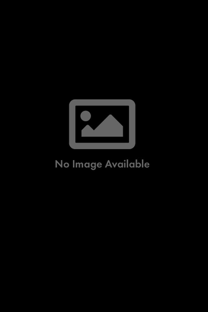 Canyon Cowhide Stool - 28S: Dark Brown & White