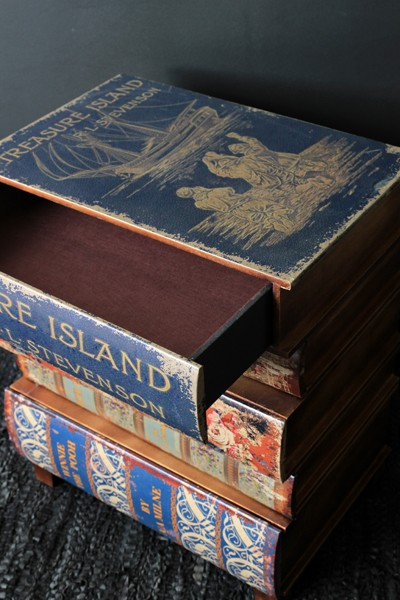 Treasure Island Book Chest Of Drawers Bedside Table